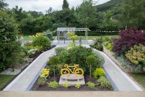 Marshalls Tour de France cycle garden