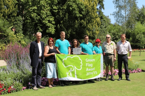 the landscape group green flag