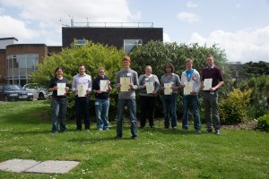 The eight finalists - Institute of Horticulture Young Horticulturist of the Year 2014