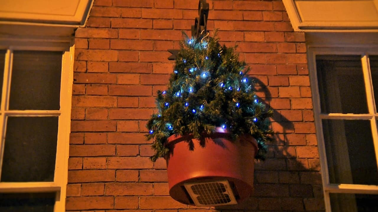 Plantscape Set To Shed More Festive Light As It Launches Its New Hanging Solar Powered Christmas Tree