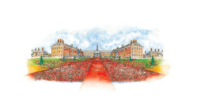 Phillip Johnson Landscapes Presents Poppy Tribute At Rhs Chelsea