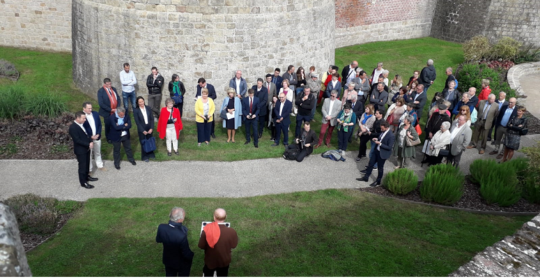 WW1 Centenary Peace Garden in France is inaugurated -