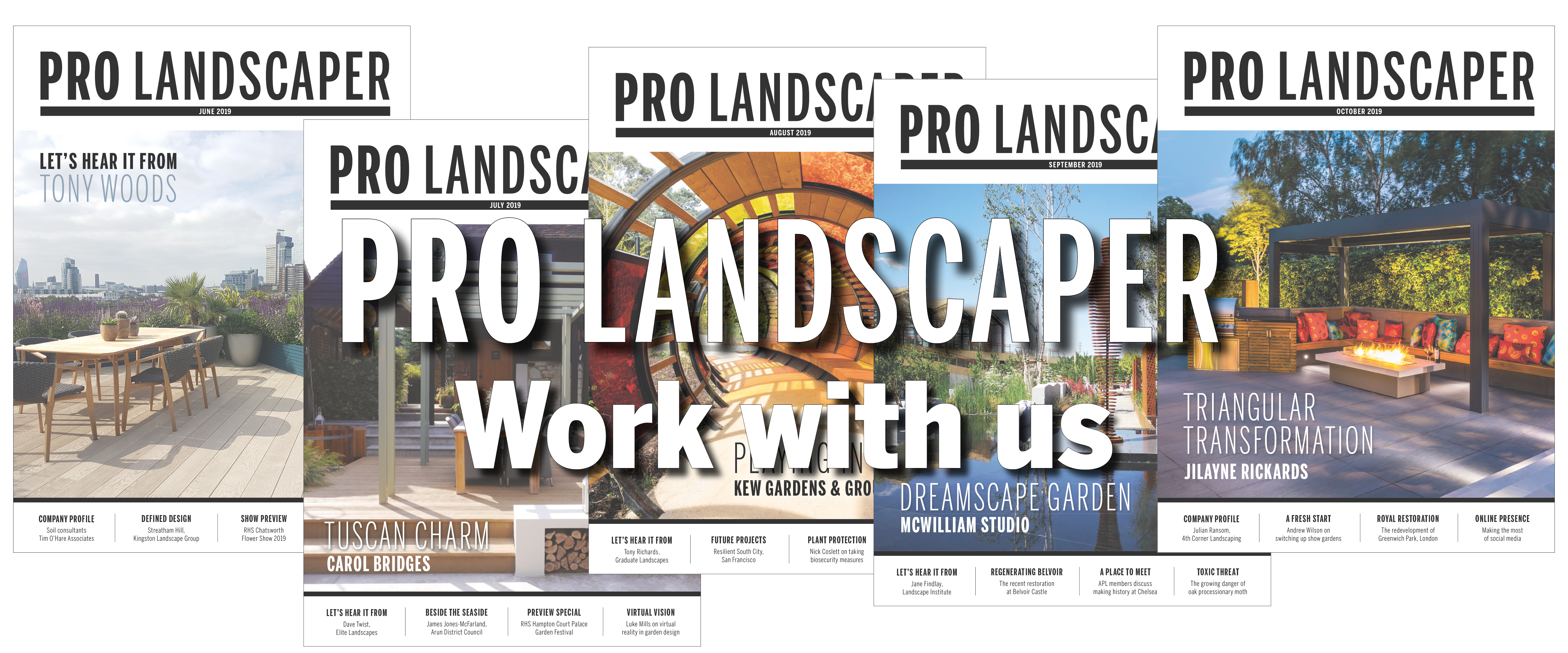 Work with Pro Landscaper