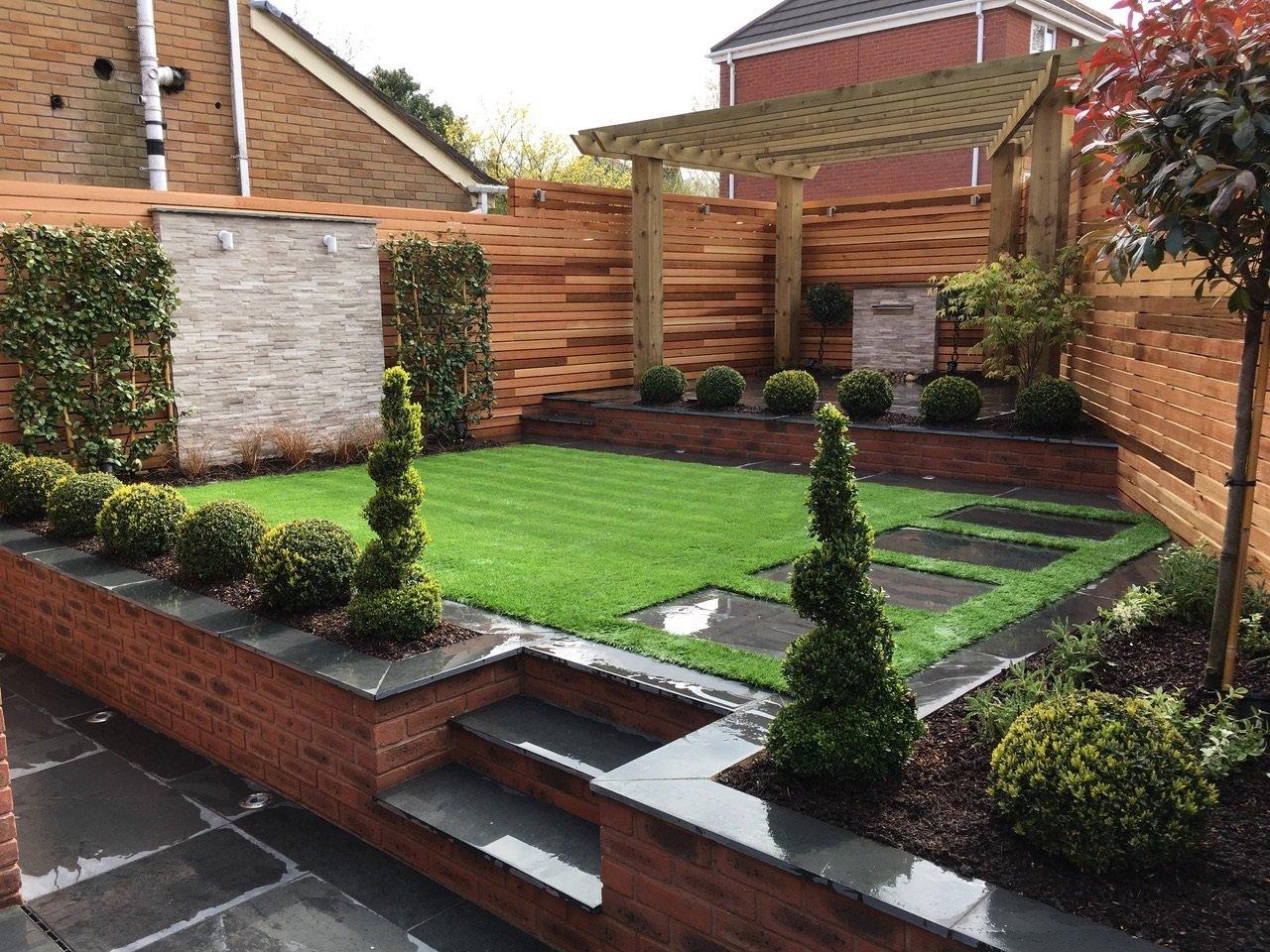 three-tiered garden